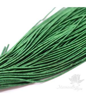 Канитель фигурная спиральная 1.5мм, темно-зеленый