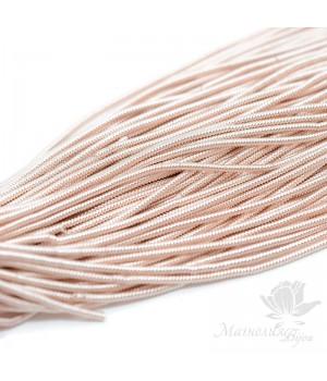 Канитель фигурная спиральная 1.5мм, розовое золото