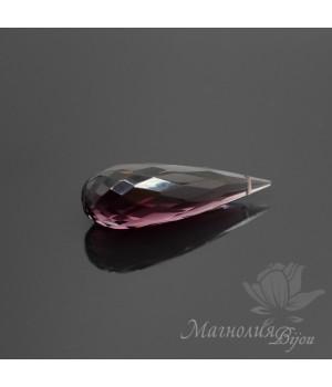 Фиолетовый кварц(Amethyst Quartz) 25:8мм, 1 штука