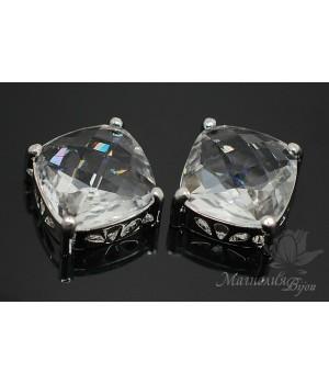 """Подвеска """"Crystal Cube"""", родиевое покрытие"""