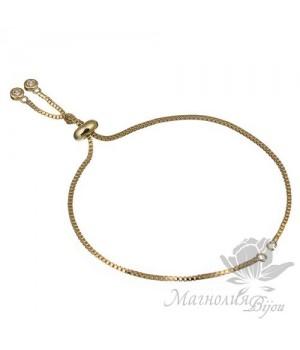 Основа-цепочка для браслета, цвет золото