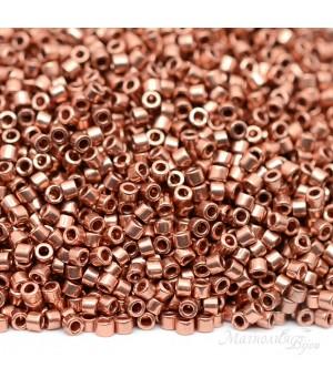 Бисер Delica DB0040 Bright Copper Plated, 5 грамм