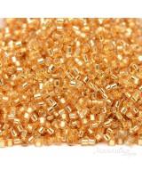 Бисер Delica DB0042 S/L Gold, 5 грамм