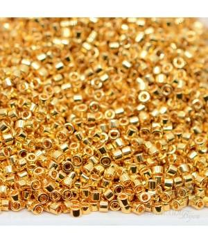 Бисер Delica DB0031 Gold 24K Plated, 5 грамм