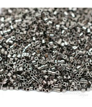 Бисер Delica DBS0021 Steel, 5 грамм