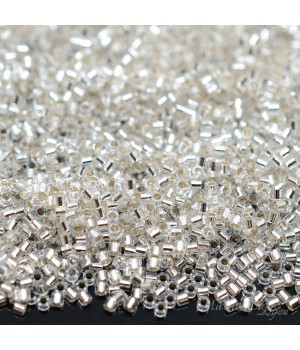 Бисер Delica DBS0041 S/L Crystal, 5 грамм