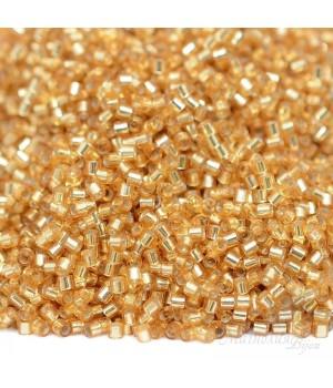 Бисер Delica DBS0042 S/L Gold, 5 грамм
