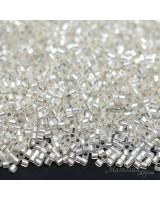Бисер Delica Hex Cut DBSC0041 S/L Crystal, 5 грамм