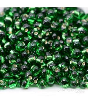 Бисер Miyuki Drops 16 S/L Green, 10 грамм