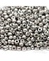 Бисер круглый 0190 8/0 Nickel Plated, 5 грамм