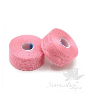 Нить для бисера S-Lon AA, Pink