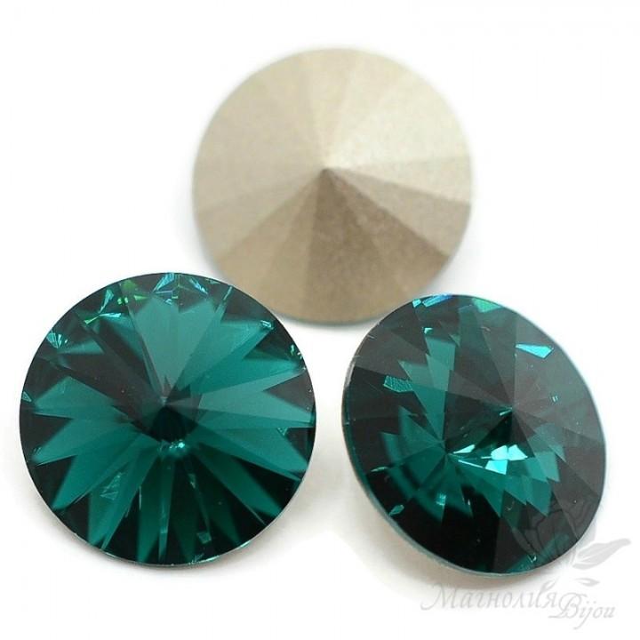 1122 Rivoli 14мм, цвет Emerald(205)