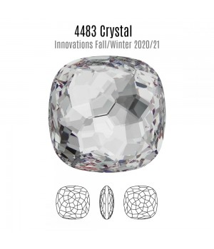 4483 Fantasy Cushion 14мм, цвет Crystal