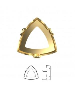 4799/S Оправа для Kaleidoscope Triangle 14:14.3мм, томпак/позолота