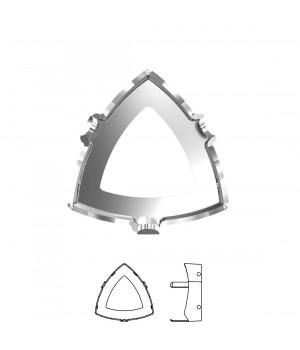 4799/S Оправа для Kaleidoscope Triangle 14:14.3мм, томпак/родий