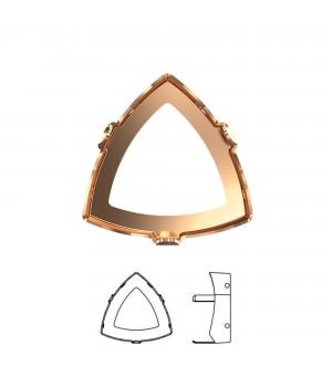 4799/S Оправа для Kaleidoscope Triangle 14:14.3мм, томпак/без покрытия