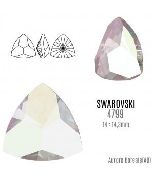 4799 Kaleidoscope Triangle 14:14.3мм, цвет Aurore Boreale(AB)