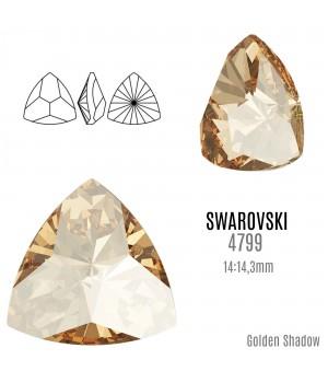 4799 Kaleidoscope Triangle 14:14.3мм, цвет Golden Shadow