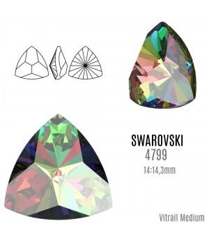 4799 Kaleidoscope Triangle 14:14.3мм, цвет Vitrail Medium