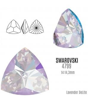 4799 Kaleidoscope Triangle 14:14.3мм, цвет Lavender DeLite