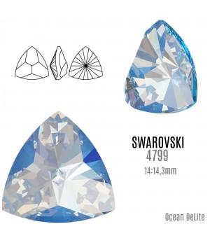 4799 Kaleidoscope Triangle 14:14.3мм, цвет Ocean DeLite