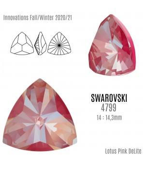 4799 Kaleidoscope Triangle 14:14.3мм, цвет Lotus Pink DeLite