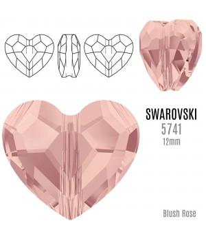 5741 Бусина Love Bead 12мм, цвет Blush Rose