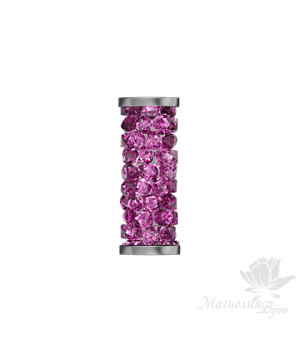 5950 Fine Rock Tube Fuchsia(502) 15мм, Steel