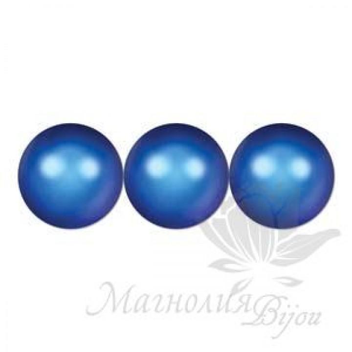 Жемчуг Swarovski 10мм Iridescent Dark Blue(949), 5 штук