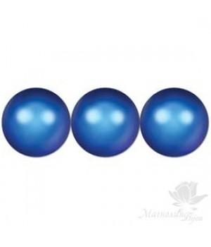 Жемчуг Swarovski 8мм Iridescent Dark Blue(949), 10 штук