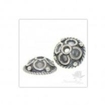 ШАПОЧКА серебро 925 пробы, 9мм(2048)