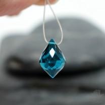 Цена СНИЖЕНА на 20%!!! Синий кварц (Teal Blue Quartz)