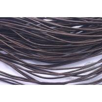 Кожаный шнур 0,8мм, коричневый, 1метр