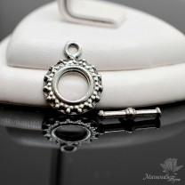 "ТОГЛ ""Мандала"", античное серебро"