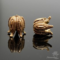 "КОЛПАЧОК(шапочка) ""Чашелистик"", античное золото"