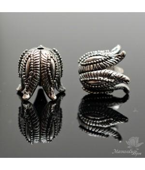 "КОЛПАЧОК(шапочка) ""Чашелистик"", античное серебро"