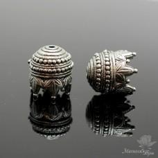 "КОЛПАЧОК(шапочка) ""Махараджа"", античное серебро"