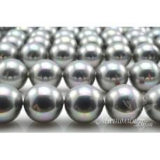 Жемчуг Shell Pearl (Майорка) светло-серый 12мм