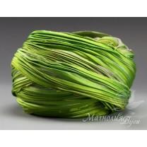 "Лента Shibori (шибори)  ""Spring Green on Lavender"", 10 см"