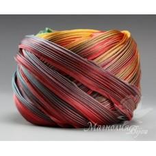 """Лента Shibori (шибори)  """"Feathers"""", 10 см"""