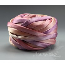 """Шнур Shibori """"Розовая лаванда"""",10 см"""