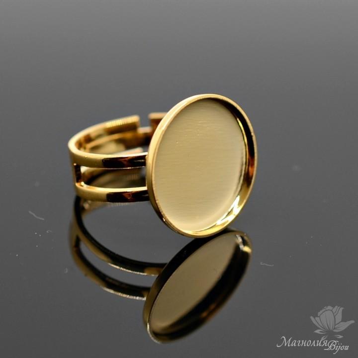 Основа для кольца №1 позолота