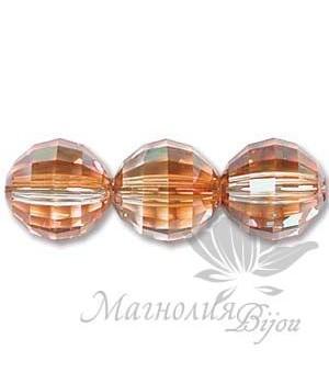 5005 Бусина Chessboard Bead 8мм, цвет Copper