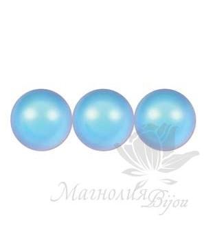 Жемчуг Swarovski 10мм Iridescent Light Blue(948), 5 штук