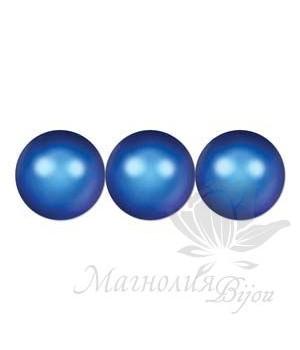 Жемчуг Swarovski 6мм Iridescent Dark Blue, 10 штук
