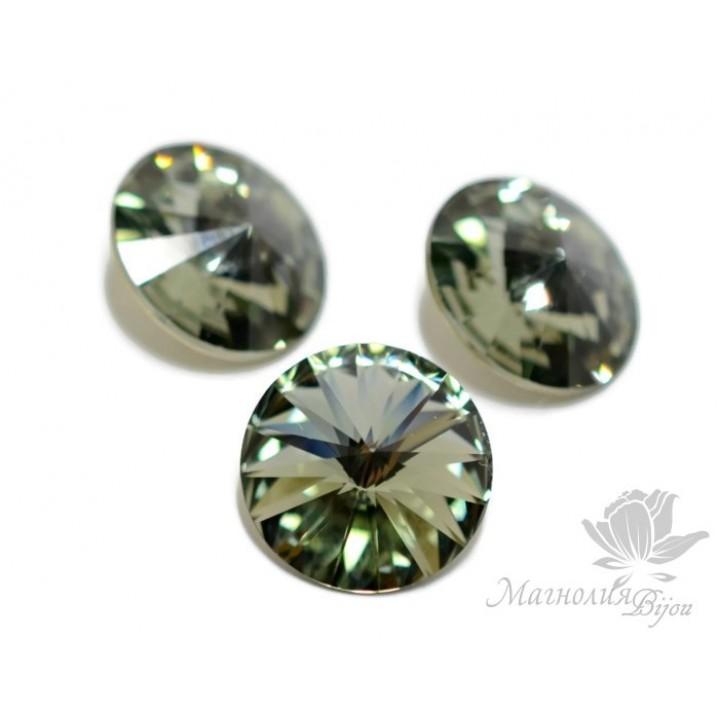 1122 Rivoli 14мм, цвет Black Diamond