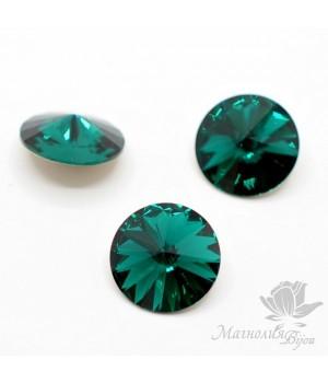 1122 Rivoli 14мм, цвет Emerald