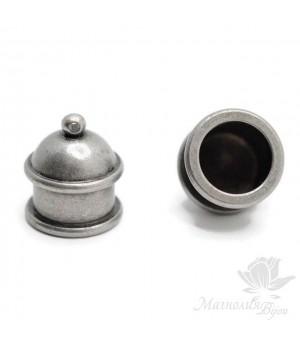 "КОЛПАЧОК(шапочка) ""Техно"", античное серебро"